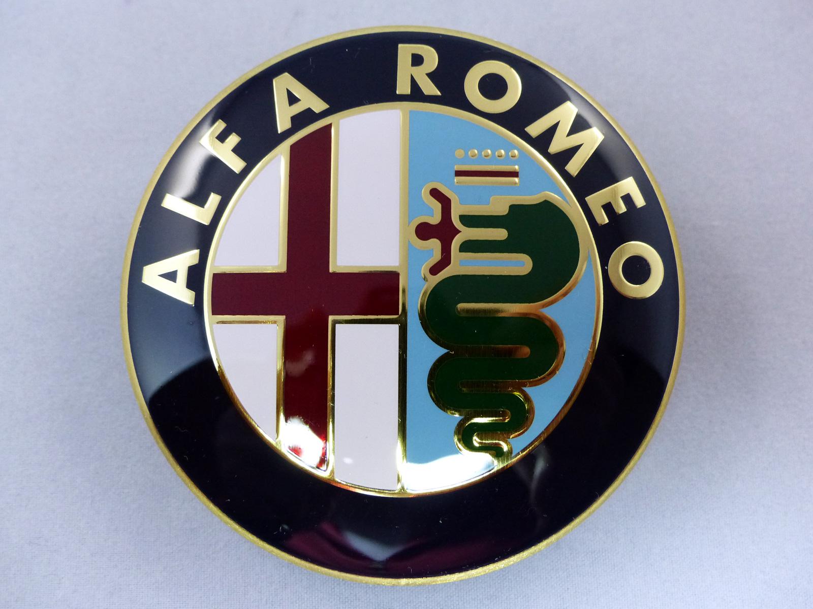 Alfa Romeo Emblem 156 147 Kühlergrill Scudetto Logo Front NEU
