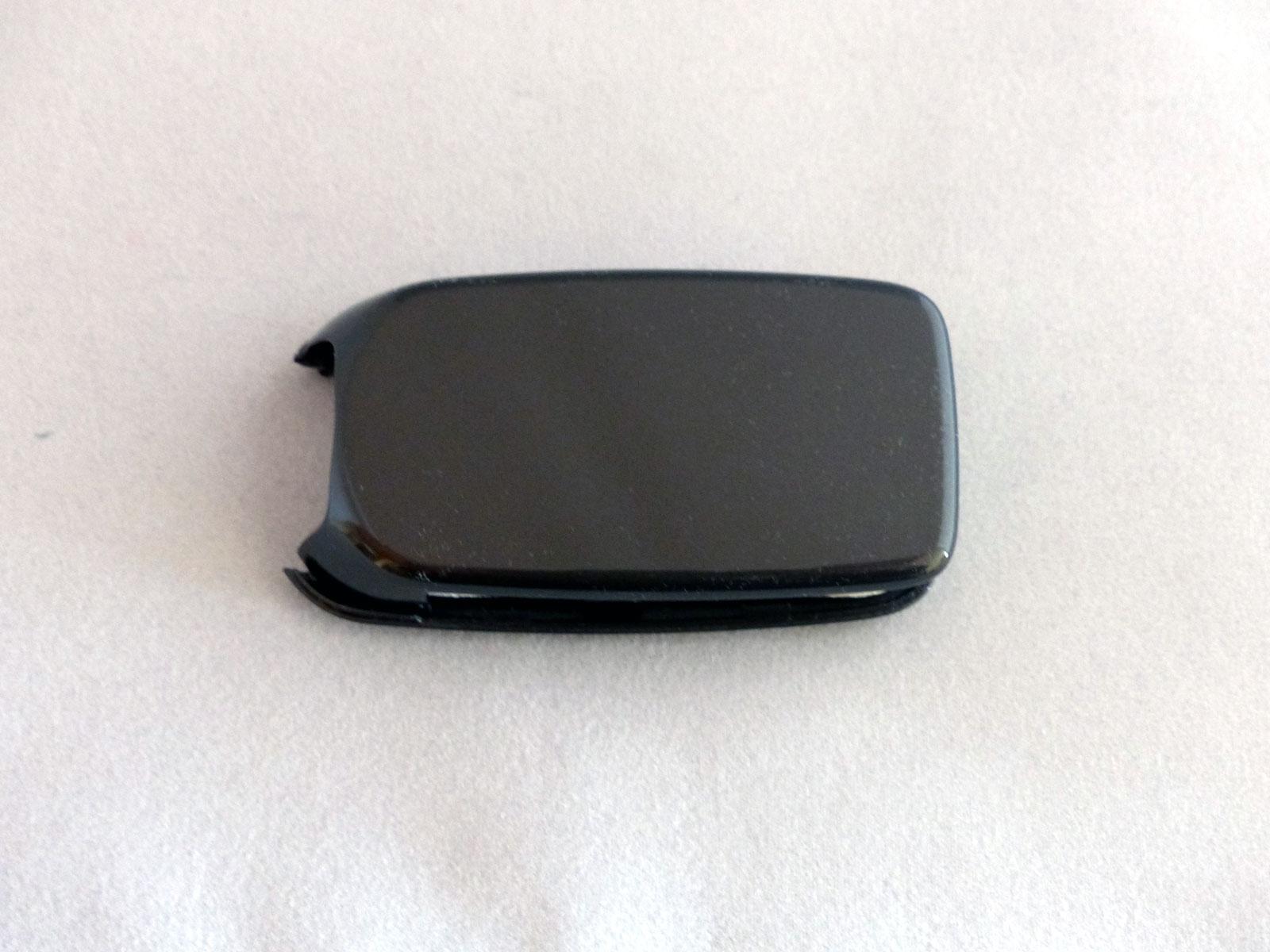 1x Schlüsselschale Schlüsselcover Fiat TIPO 500X grau metallic anthrazit