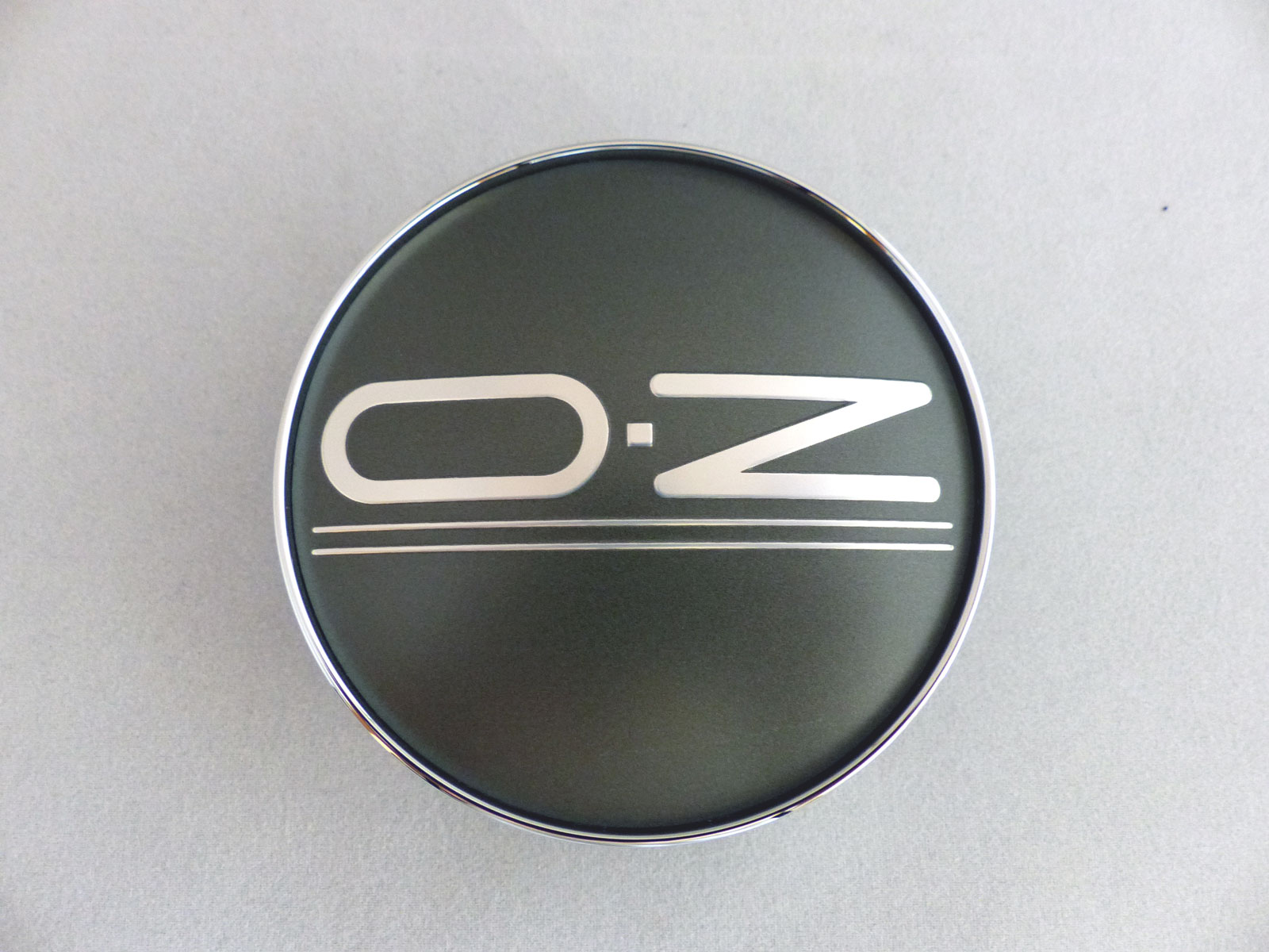1x OZ Nabendeckel Nabenkappe M669 grau matt 76,3 mm Monaco Montecarlo HLT
