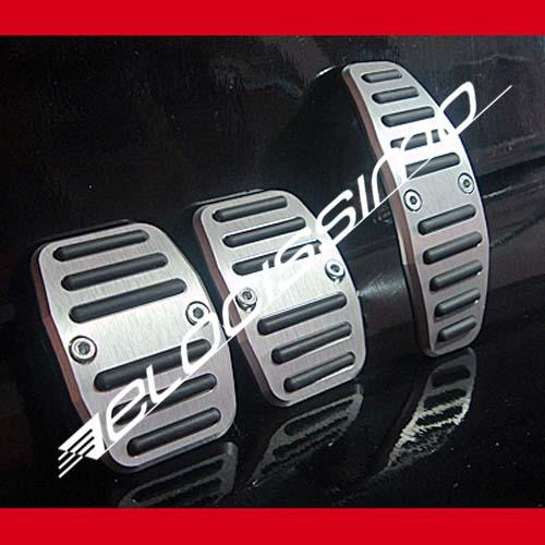 Alfa Romeo 147 GT Sportpedale Set Orig. Alu silber NEU