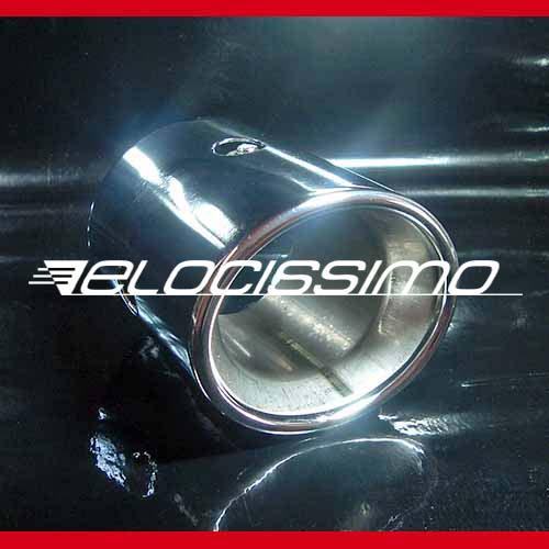 Alfa Romeo 159 939 orig. Auspuffblende Auspuff Chrom 1,9JTDm 16V + 1,9JTS 16V
