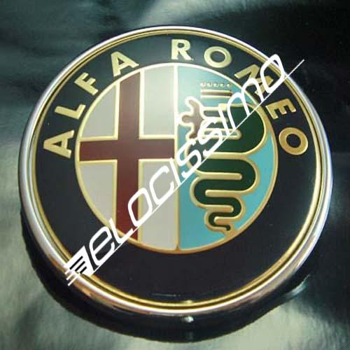 Alfa Romeo Emblem 147 937 GTV Spider 916 MITO 955 Scudetto Logo NEU