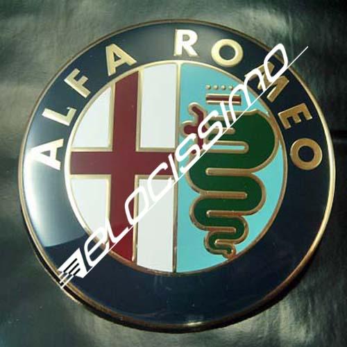 Alfa Romeo Emblem 156 932 147 937 GT Heckklappe original Logo Kofferraum