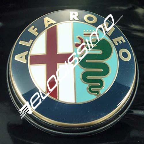 Alfa Romeo Emblem 156 932 147 937 GT Heckklappe Logo + Dichtung