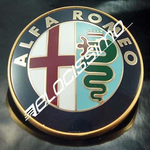 Alfa Romeo Emblem Logo Front Scudetto 145 156 Spider GTV 33 75 155 164 166 NEU