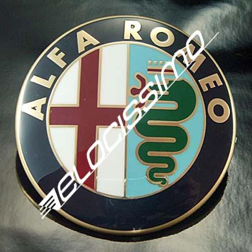 Alfa Romeo Emblem 147 Heckklappe original Logo drehbar für KFZ mit Schloß