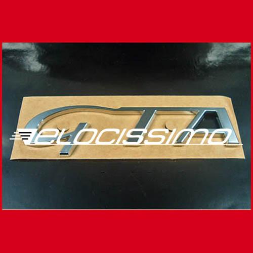 Alfa Romeo GTA orig. Emblem Schriftzug Monogramm Badge GTV GT Spider NEU