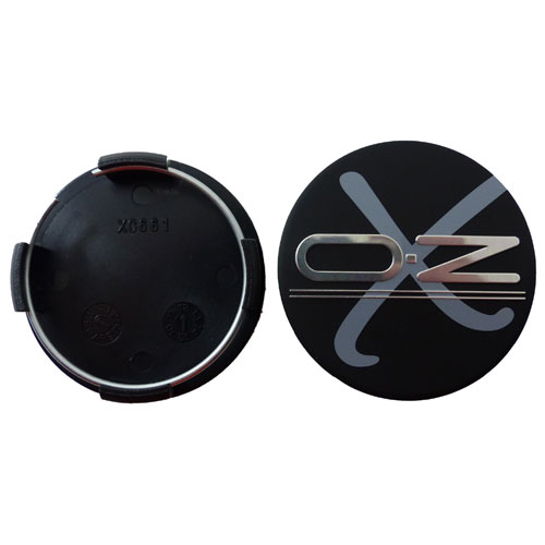 OZ Nabenkappe xline Alufelge X5B xc661 schwarz matt 60,5 mm Nabendeckel grau X