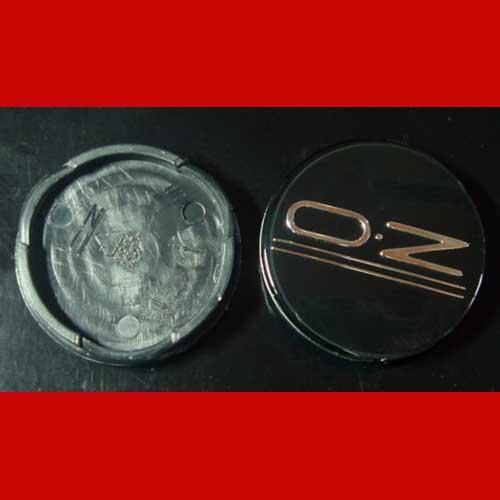 OZ Nabendeckel Nabenkappen Felgendeckel schwarz 50 mm M654