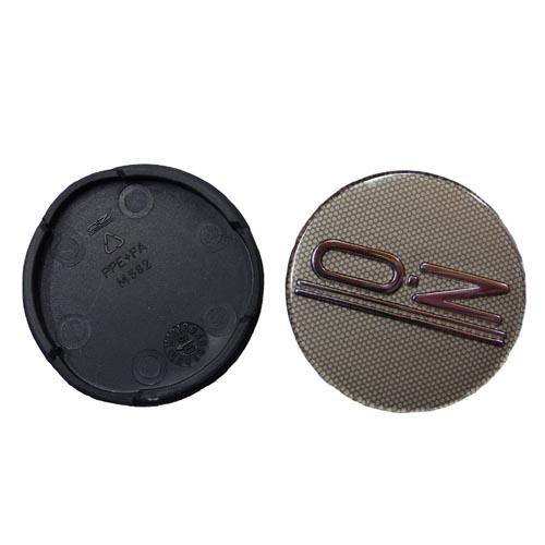 OZ Nabendeckel Nabenkappen Felgendeckel Grau Silber 55mm M582