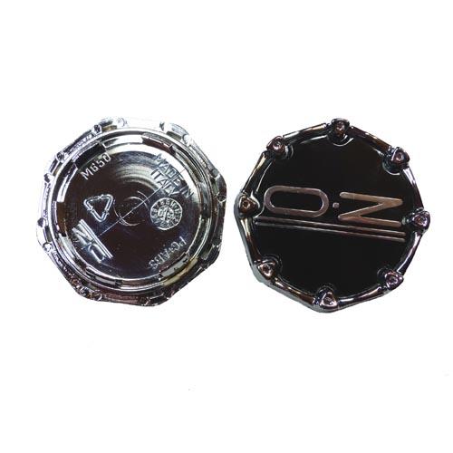 OZ Nabendeckel M650 Nabenkappen Felgendeckel schwarz Oktagon Palladio 62mm